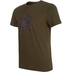 Mammut Logo Camiseta Hombre, iguana PRT1